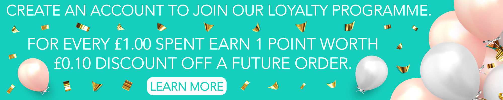 Loyalty Programme Banner Image